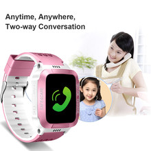 Smart Waterproof Wristwatch for Kids Security Anti-lost Remote Control GPS Tracker SIM Call Phone SOS Touch Screen Wrist Watchs(China)