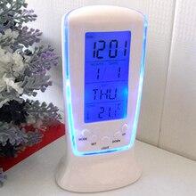 Светодиодные электронные часы Будильник Календарь Термометр