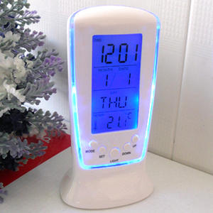 Led electronic Clock Alarm Calendar Thermometer