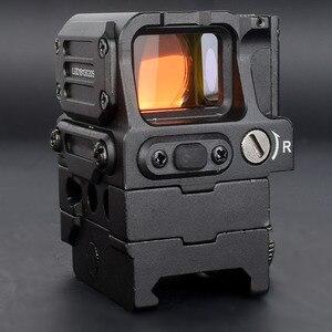 Image 4 - Оптический прицел DI FC1 с красной точкой, голографический прицел для рельсовой направляющей 20 мм (черный)