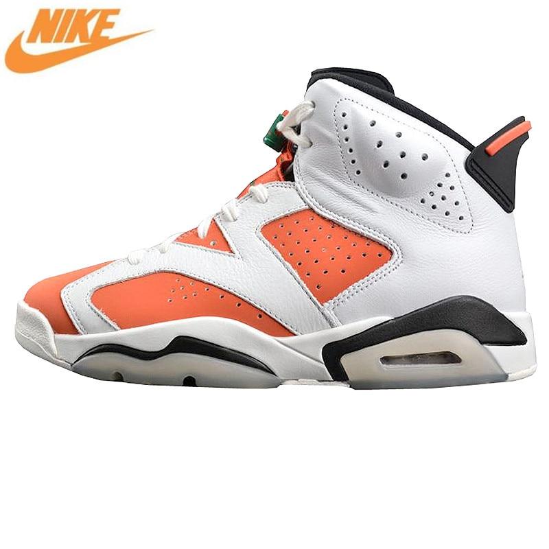 6748e7866d7 Nike AIR JORDAN 6 Gatorade Gatorade Men's Air Cushion Basketball Shoes  Sports Shoes, Original Outdoor Shoes 384664 145-in Basketball Shoes from  Sports ...