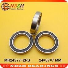 BB90 MR2437-2RS, MR24377 степень бакалавра, MR243707(24*37*7 мм) для велосипедов BB90 подшипник ABEC-5 24377