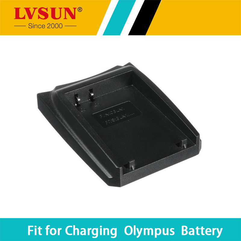 LVSUN BLN-1 BLN1 BLN 1 Battery Holder Adapter Plate Case For Olympus BCN1 BCN-1 OM-D PEN E-P5 EP5 E-M1 EM1 EM5 Batteries Charger