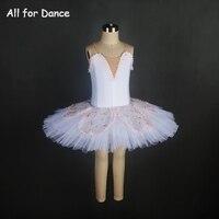 Клиент Размеры из 5 слоев тюля Балетные костюмы танцевальный костюм блин пачка для Обувь для девочек производительность/Конкурс танца