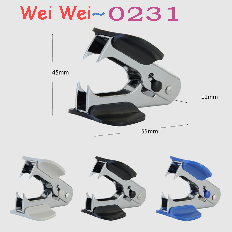 Multicolor Metal Plastic Mini Staple Remover Easy To Use Handheld Staple Remover School Office Binding Supplies
