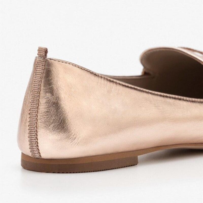 Otoño Dedo Del Las Zapatos Oro Puntiagudo Para Navidad Fsj Primavera Pisos Sexy Monday Mujeres Fsj01 on De Mocasines Rosa Pie Verano Slip Cyber Día xtHYYrXpqw