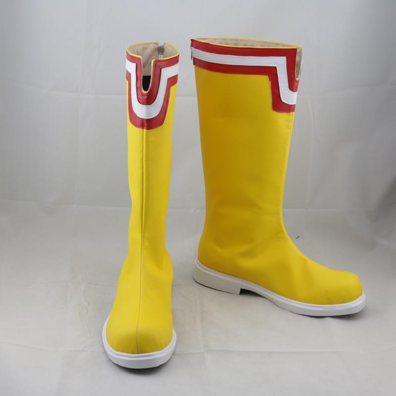 My Hero Academia Boku No Hero Akademia All Might Yellow Cosplay Shoes Boots Halloween Carnival Costume Accessories