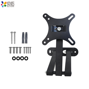 """Image 5 - Full Motion TV Wall Mount Monitor Wall Bracket with Swivel and Articulating Tilt Arm Fits 10 27""""LCD LED Flat Screens up to 22lbs"""