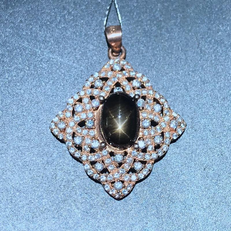 1.5 carat Natural Sapphire Pendant new store discount promotion 925 Silver1.5 carat Natural Sapphire Pendant new store discount promotion 925 Silver
