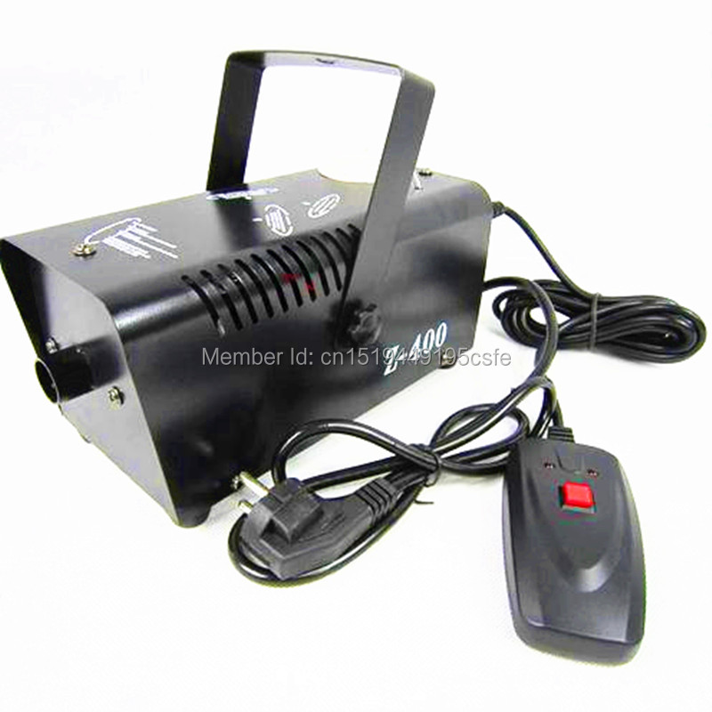 Mini 400W Wire control fog machine pump dj disco smoke machine wedding party stage DJ Equipment With Free Shipping купить