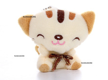 3Colors- 7cm CAT Plush Stuffed animal Toy , Baby Toy , Kid's gift plush toys