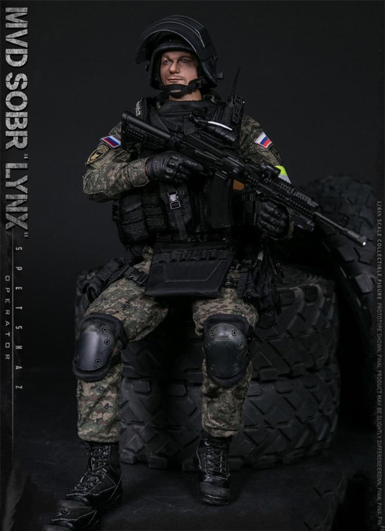 AK-74M Rifle /& Full Accessory Set 1//6 scale toy Russian Spetsnaz SOBR