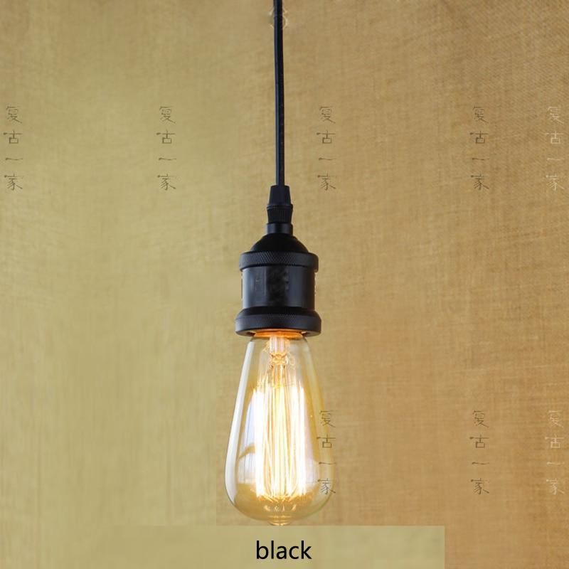 Chandelier With Edison Bulbs: Retro Vintage 40W Edison Light Bulb Chandelier E27 220V