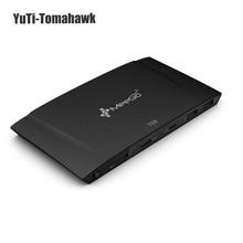 2017 meegopad T09 4 ГБ Оперативная память Тип-C Mini PC Box Windows 10 Intel x5-Z8300 двухдиапазонный Wi-Fi 2.4 г/5 г 1000 Мбит/с LAN Compute stick