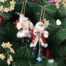 Christmas Tree Decoration Santa Claus Doll