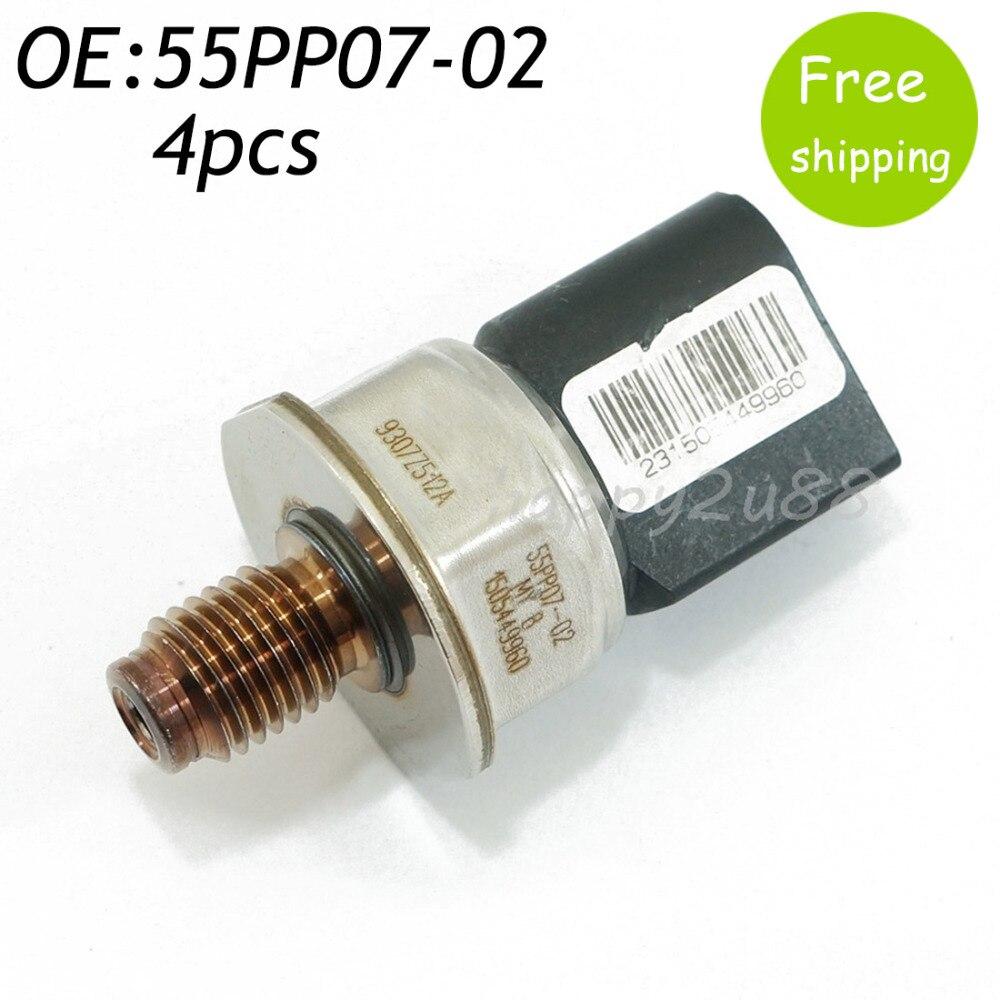 все цены на  New 4pcs Fuel Rail Pressure Regulator Sensor For MERCEDES KIA SEDONA CARNIVAL BONGO 55PP07-02 9307Z512A 1505449960  онлайн