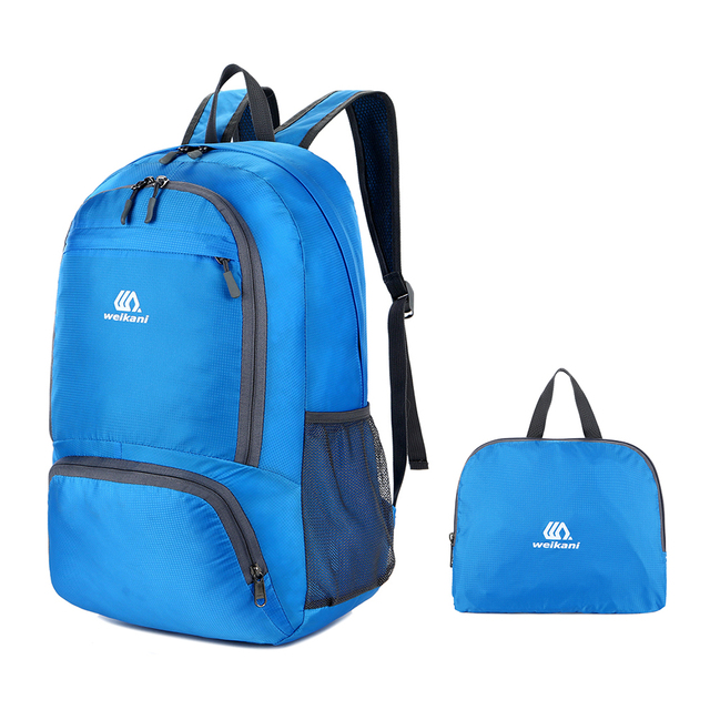 d0cc7a0c4ffb Hot Sale Nylon Backpack Waterproof Foldable Travel Backpack Daypack Bag  Outdoor Sport Camping Hiking Cycling Packable