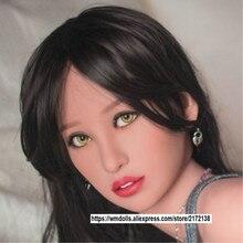 WMDOLL Top Quaity Sexy Doll Head For Silicone Dolls body  Tan 140-170cm