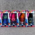1 шт. 17 см Dreamworks Троллей ПВХ Фигурку Набор Модель Коллекция Игрушка 4 Стили Рождественский Подарок Для Детей