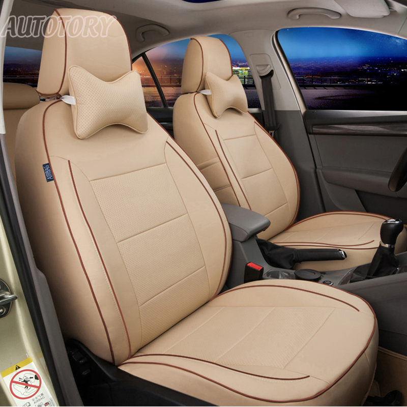 Autotory Custom Genuine Leather Automobiles Cover Seat for Nissan Quest Car Seat Covers Accessories Supports All 3 Rows Complete
