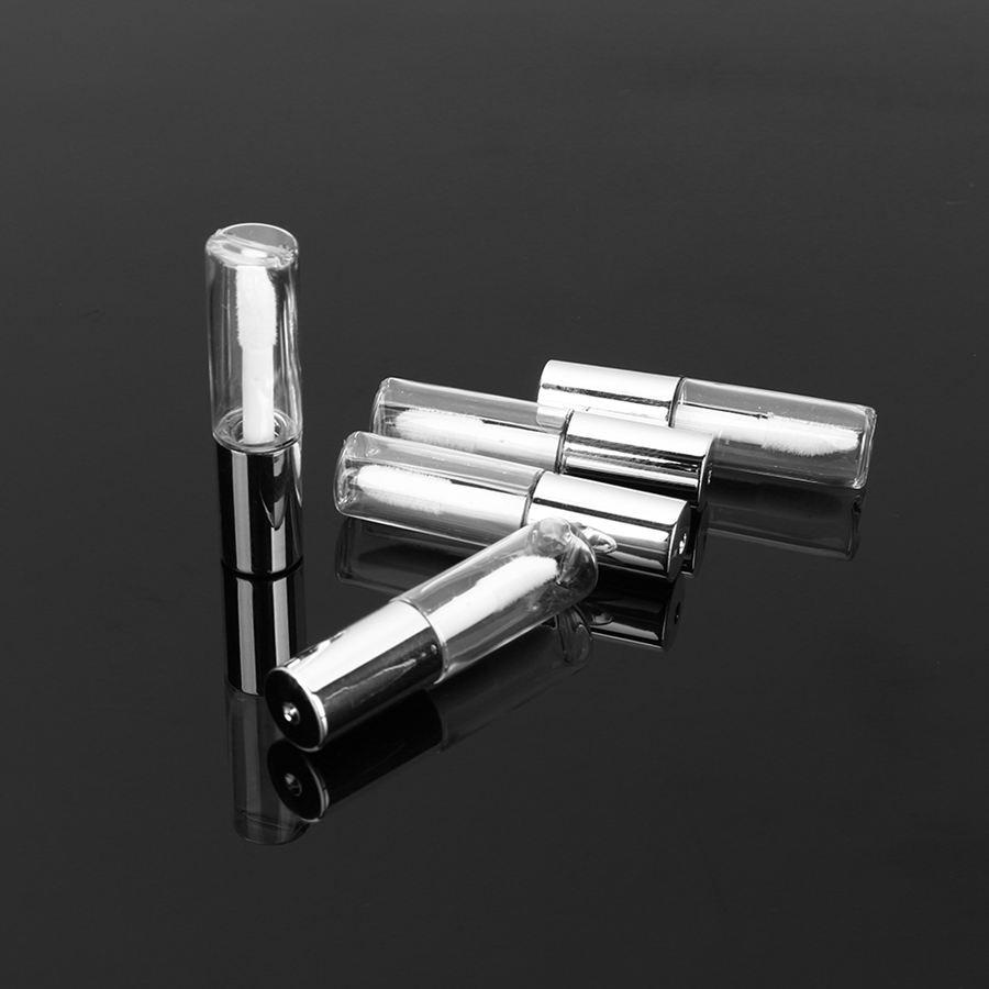 45 יח'\חבילה שפתון שפתון צינור גלוס ריק ברור 1.2 ml בקבוק מכולות יופי כלי מדגם מיני היגיינה נשית מוצר