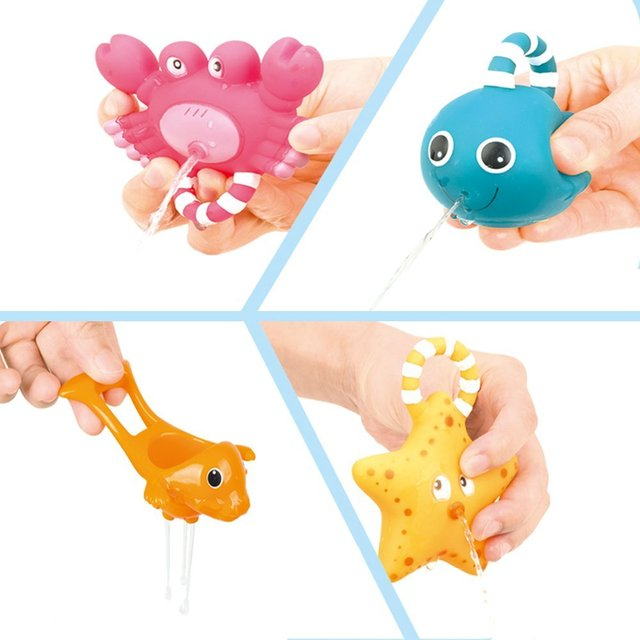 Fishing Rod with Sea Creatures