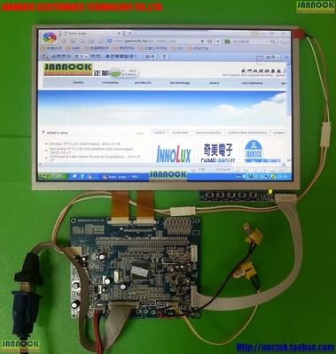 Application of S070H02V11 cube U51GT TALK7X double LCD screen 48 core