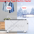 Convector Heater Household Air Warm Blower For Clothes Drying & Heater Energr Saving And Low Noise Electric Heater CA220DB