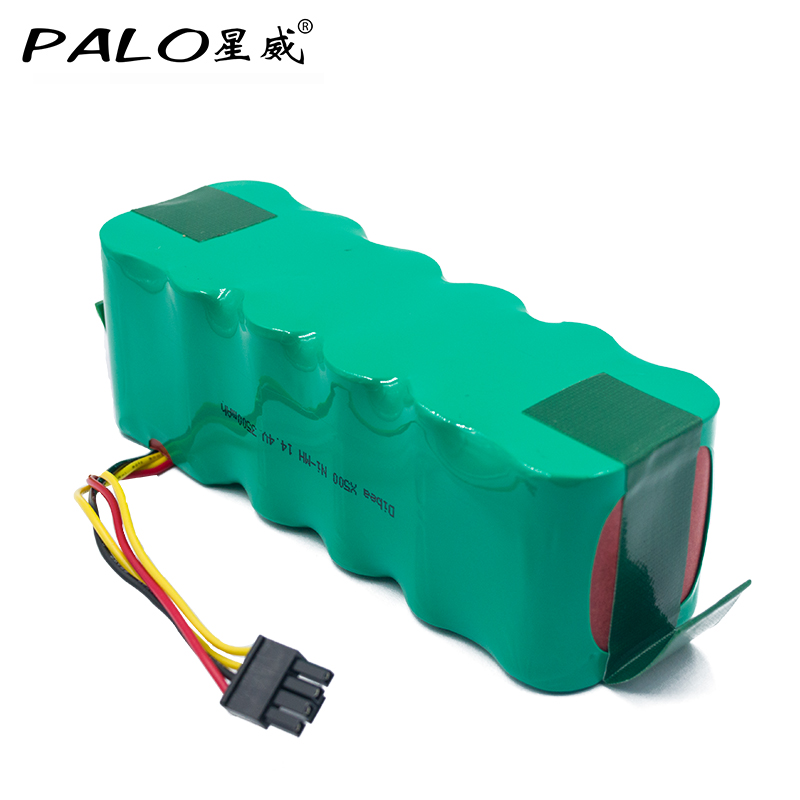 PALO Vacuum Cleaner Robot Environmentally Rechargeable Battery 14 4V Ni MH 3500mAh Battery Pack for Dibea
