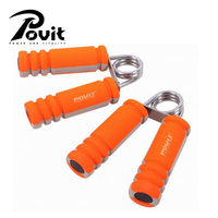 POVIT 1pair A Shape Hand Grips Foam Handle Gripper For Gym Fitness Training Equipments For Hand