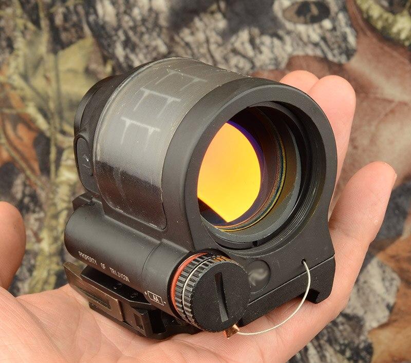 Tactique Solaire Puissance trijicon srs style 1x Red Dot sight portée avec qd picatinny weaver rail mount base M2316
