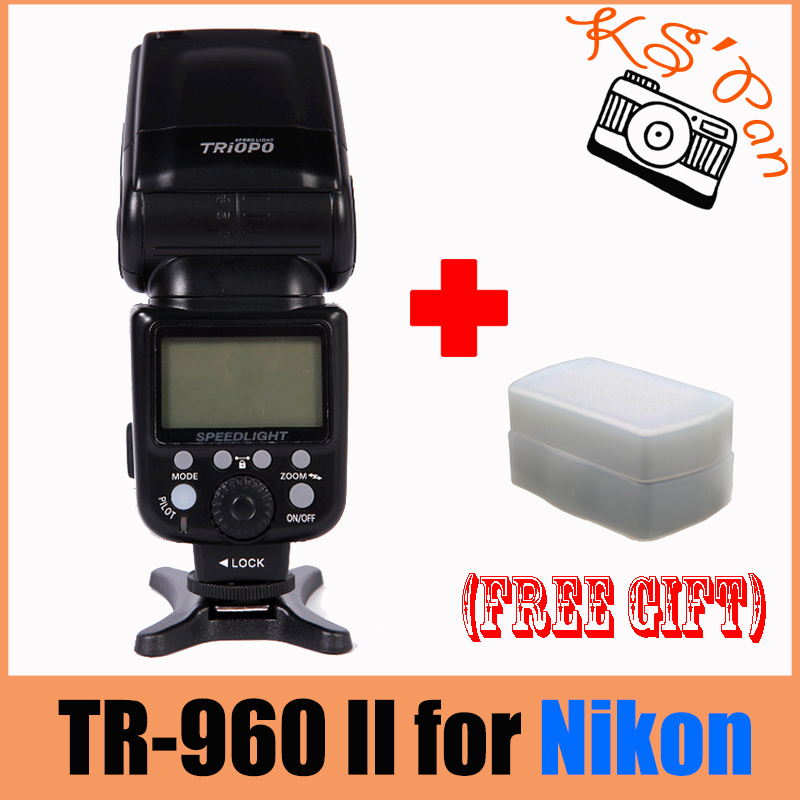 TRIOPO TR-960II Flash Speedlite Light for Nikon d600 D7000 D5200 D5100 D3200 D3100 D90,for Canon 5DII 5DIII 650D 600D 60D 700D dom men watch top luxury men quartz analog clock leather steel strap watches hours complete calendar relogios masculino m 11 page 4