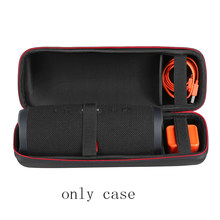 EVA Hard Case Travel Protective Wireless Bluetooth Speakers Cases For for JBL charge3 charge 3 Extra Space (ONLY CASE)(China)