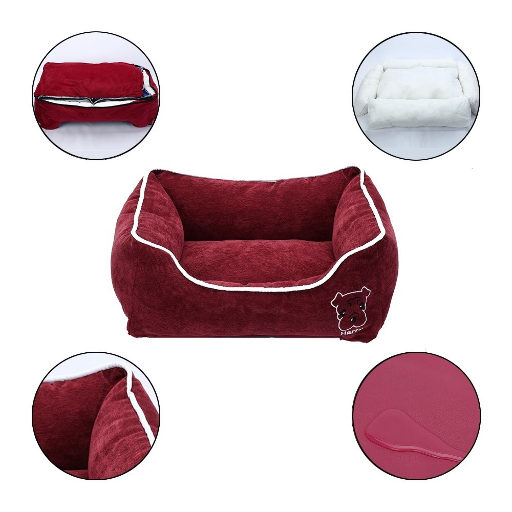 Deluxe Crate Pad Soft Bedding Moisture Proof Bottom for All Seasons Beds & Sofas