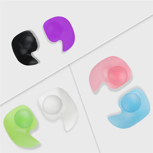 Image 2 - 1ペアソフトシリコン耳栓耳保護再利用可能なプロの音楽耳栓ノイズリダクション睡眠のため