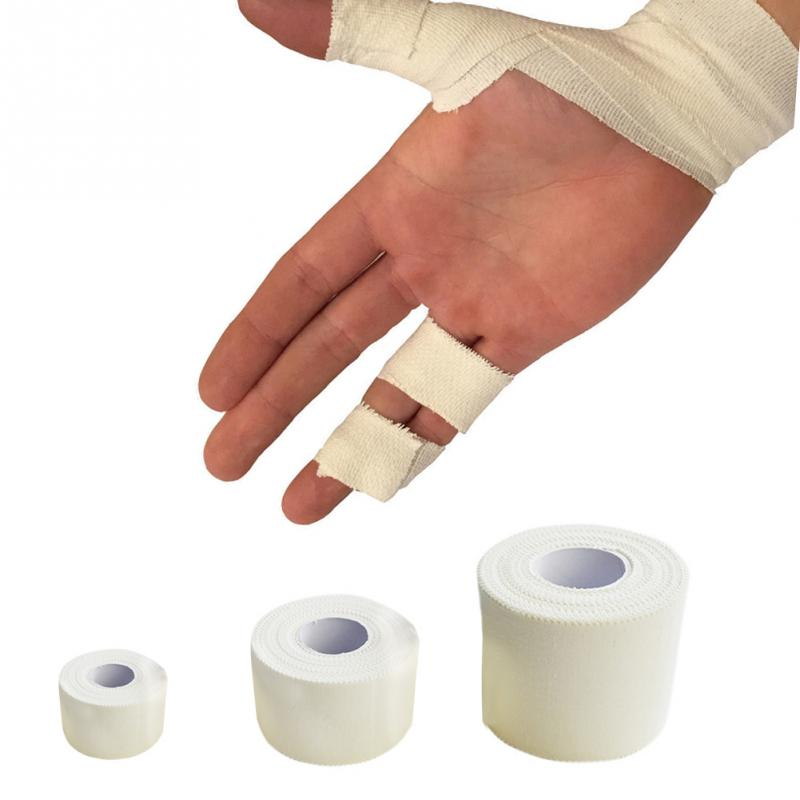 Elastic Cotton Roll Adhesive Athletic Tape <font><b>Sport</b></font> <font><b>Injury</b></font> Muscle Strain Protection First Aid Bandage Support Kinesiology Tape image