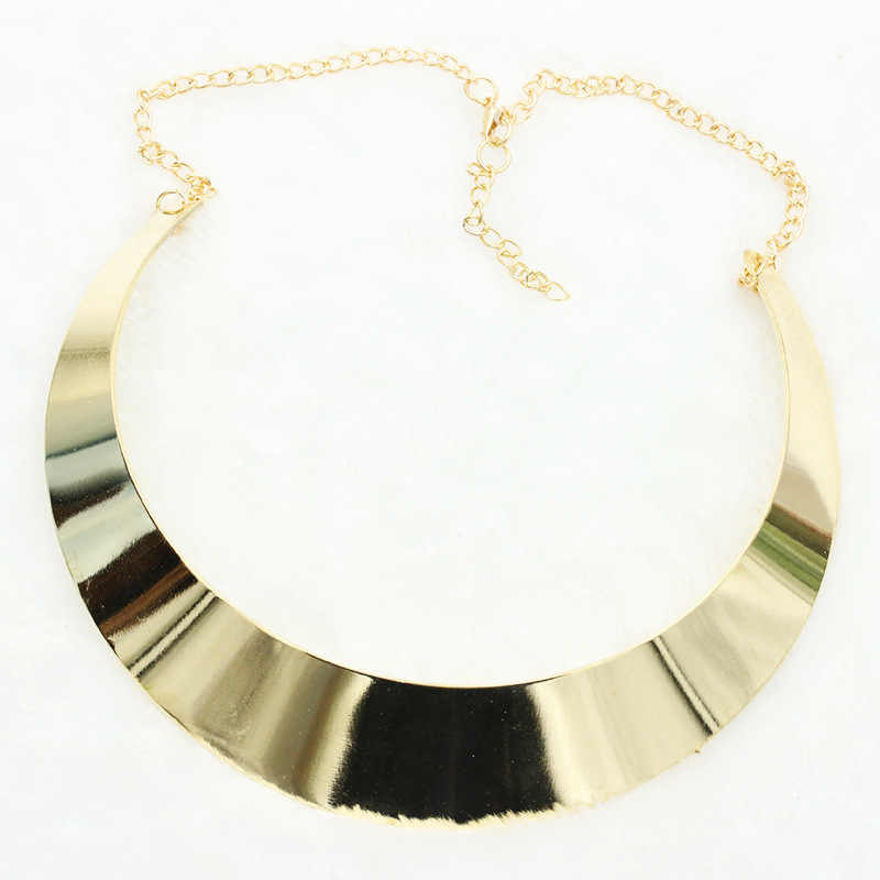Cổ điển stylegold mạ choker necklace nữ retro statement collar necklace jewelry