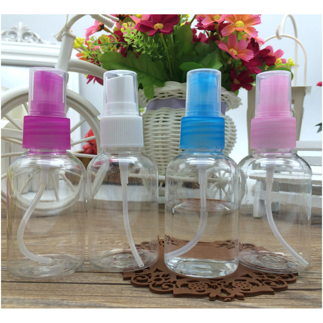 2 PCS Portatile di Viaggio di Plastica Pompa Dispenser di Sapone Cosmetici Shamp