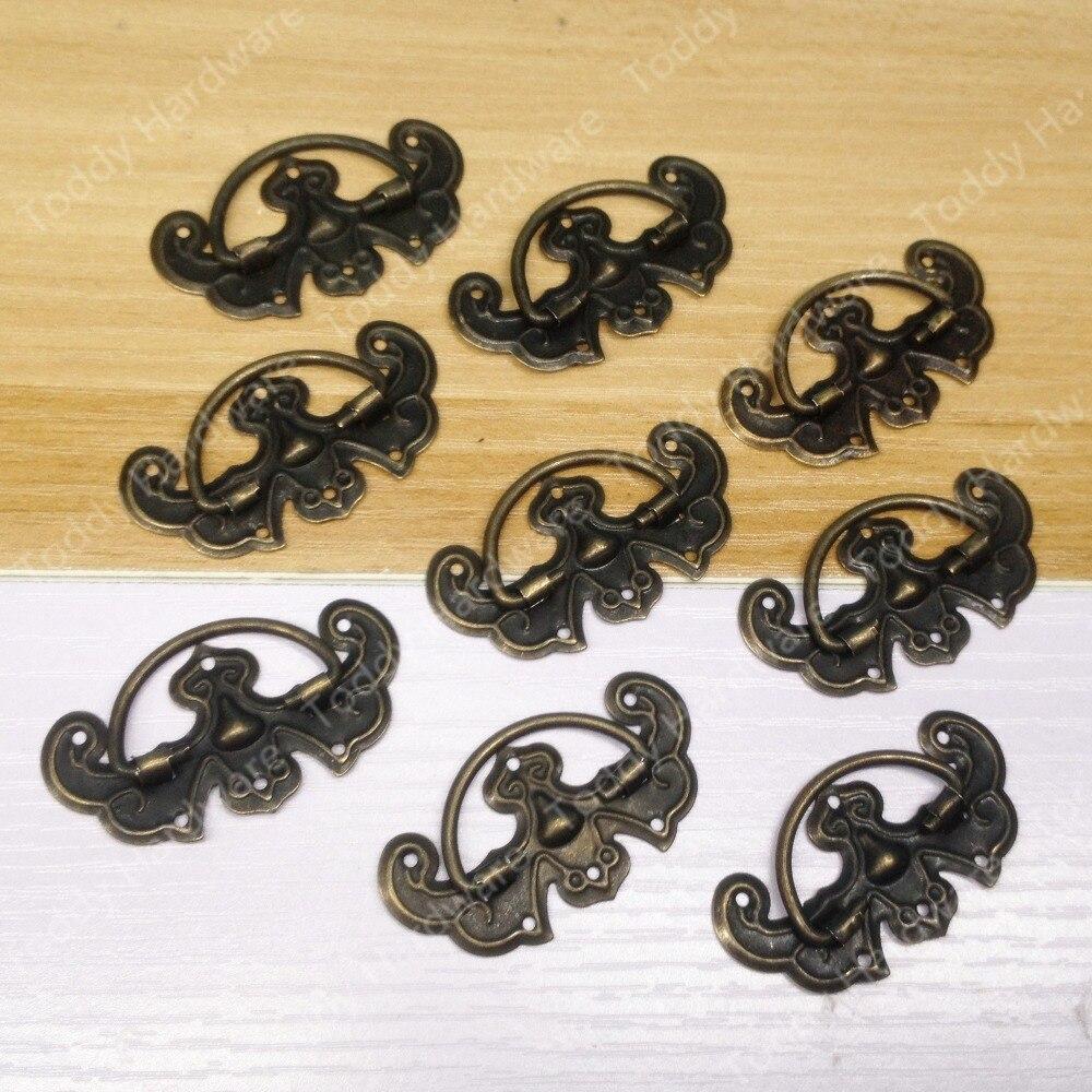 20pcs jewelry box pull small cabinet door bat design pull for Small cabinet pulls