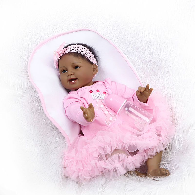 55CM Jointed Vinyl Reborn Doll Princess Girls Play Lifelike Dolls Baby Toy for Kids Playmate Gifts BM88