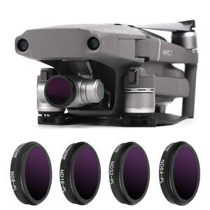 Image 2 - Filtre Drone ND8/ND16/ND32 ND64 PL densité neutre avec filtres polarisants ensemble pour objectif en verre optique DJI Mavic 2 Zoom accessoire