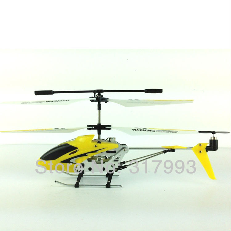 S107g Style 3 5 ch rc helicopter with gyro Alloy remote control aircraft with best children gift NSWB in RC Airplanes from Toys Hobbies