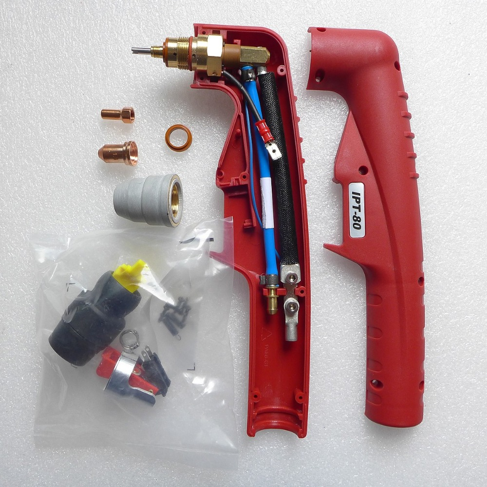 Original Tecmo PT-80 Plasma Hand Torch iPT-80 PT80 Everlast 80S welding machine parts gamo pt 80 6212037