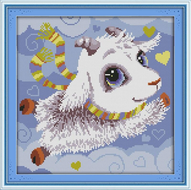 Hot Sale Joy Sunday Animal Style The Cute Little Goat Cross Stitch