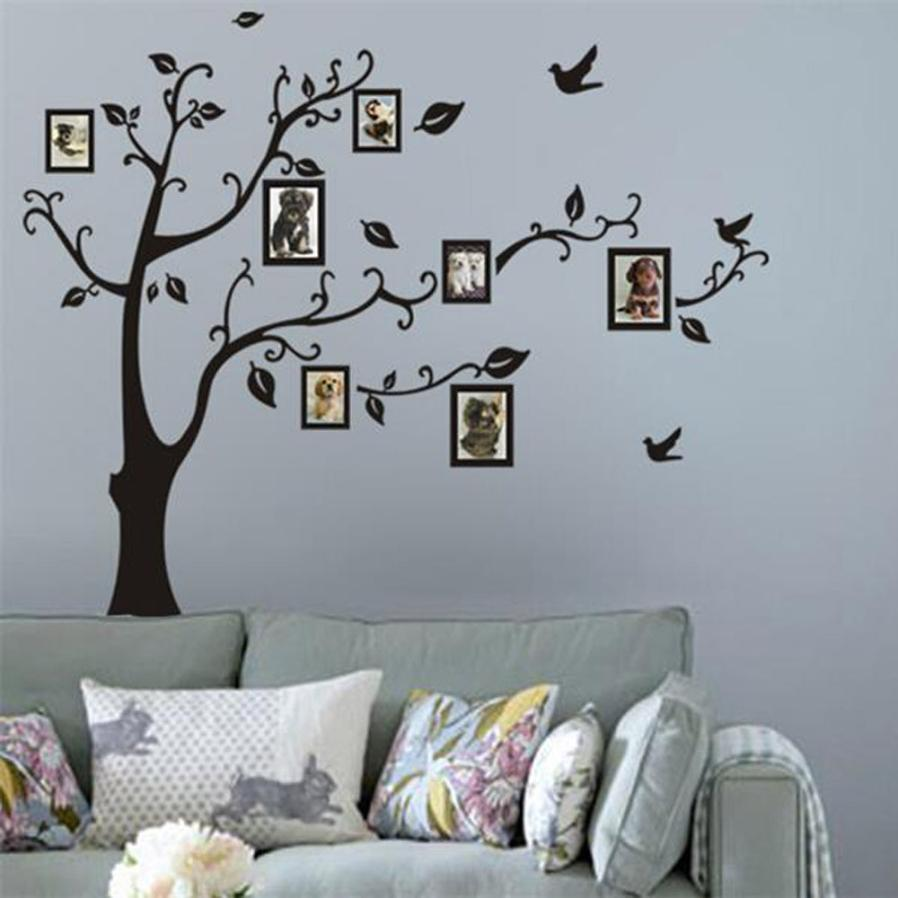 online get cheap wall decor decals aliexpress com alibaba group frame tree wall stickers muslim vinyl home stickers wall decor decals drop shipping jun22