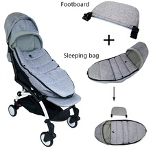 Winter Baby Stroller Sleeping Bag Windproof Cover And Carriages Extended Foot For yoya yoyo Time Accessories