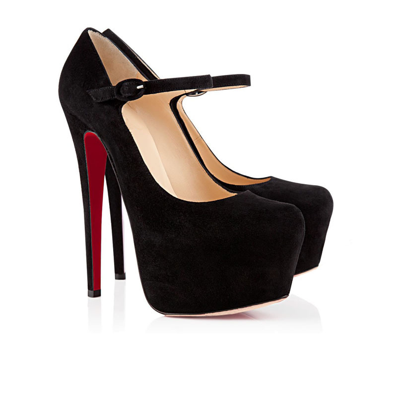Online Shop Cheap Black Sexy Stilettos Shallow Mouth Roman Dress
