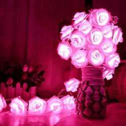 8 color night light 20 led novelty rose flower fairy string lights wedding garden party christmas.jpg 250x250