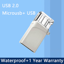 OTG USB Flash Drive 8GB 16GB 32GB Pen Drive 64GB Tablet PC Smart Phone OTG External Storage Micro Usb 2.0 Memory Stick 512GB