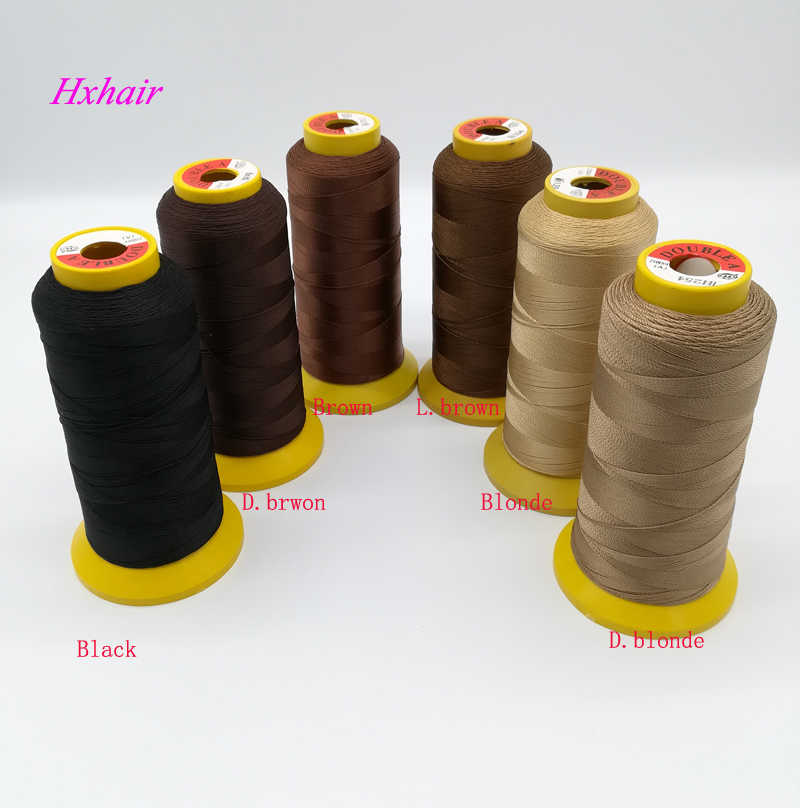 1pcs Thread for  Weaving for hair extension  High Intensity Polyamide Nylon weaving Thread Hair Extension thread